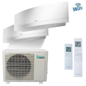 300x300 condizionatore daikin emura bianco dual split 9000 plus 9000 btu inverter a plus plus wifi