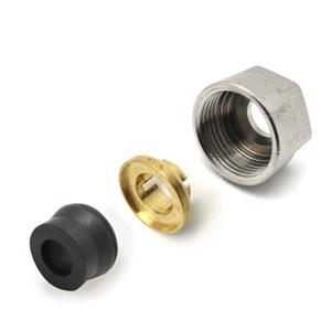 300x300 raccordo cromato valvola detentore in gomma per tubo rame 12x2 per valvole dentori ercos
