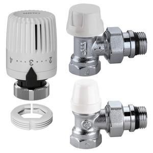 300x300 kit termostatico a squadra completo per tubi ferro diam 3 slash 8 caleffi per termosifoni