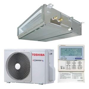 300x300 condizionatore toshiba canalizzabile standard light commercial sm btp 24000 btu inverter a con comando a filo