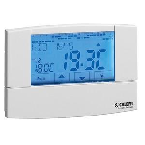300x300 cronotermostato digitale touch screen settimanale caleffi