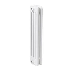 300x300 radiatore a colonna in acciaio ercos comby 2 elementi 4 colonne interasse 600 mm