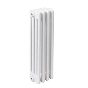300x300 radiatore a colonna in acciaio ercos comby 4 elementi 4 colonne interasse 600 mm
