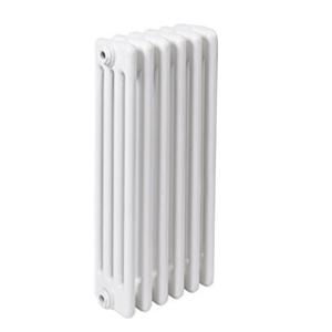 300x300 radiatore a colonna in acciaio ercos comby 6 elementi 4 colonne interasse 1935 mm