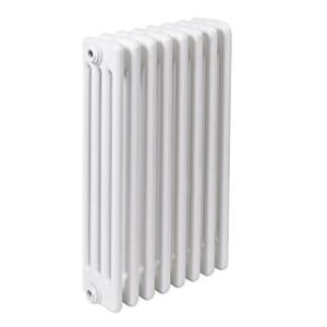 300x300 radiatore a colonna in acciaio ercos comby 8 elementi 4 colonne interasse 600 mm