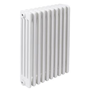 300x300 radiatore a colonna in acciaio ercos comby 10 elementi 4 colonne interasse 600 mm