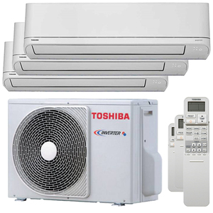 300x300 condizionatore toshiba shorai r32 trial split 5000 plus 5000 plus 5000 btu inverter a plus plus unita esterna 5200 watt ue