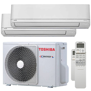 300x300 condizionatore toshiba shorai r32 dual split 5000 plus 5000 btu inverter a unita esterna 4 kw ue