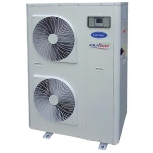 300x300 pompa di calore carrier aquasnap greenspeed 17 kw trifase con modulo idronico e trattamento batteria gold fin