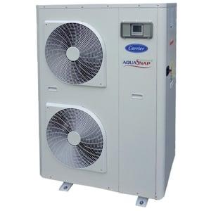 300x300 pompa di calore carrier aquasnap greenspeed 21 kw trifase con modulo idronico e trattamento batteria gold fin