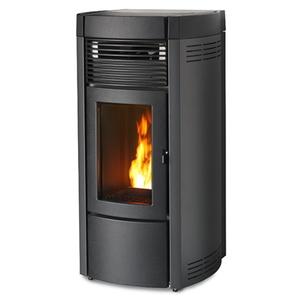 300x300 stufa a pellet mcz musa comfort air 14 m1 dark 138 kw aria canalizzabile con app maestro