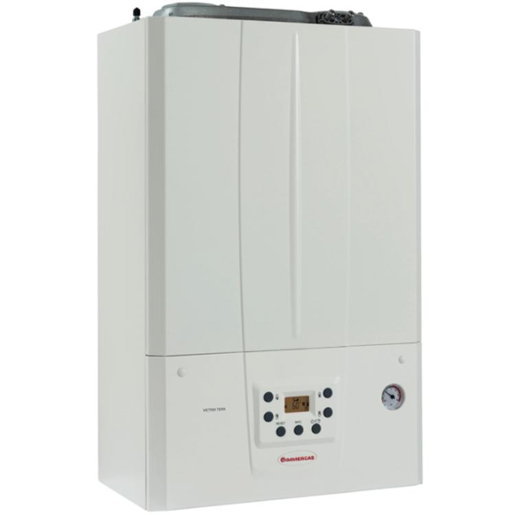 caldaia immergas victrix tera 28 a condensazione camera stagna 28 kw gpl