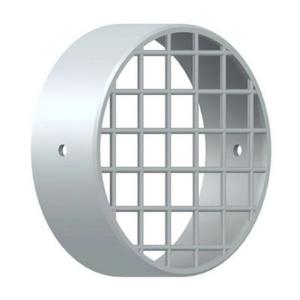 300x300 griglia aspirazione antintrusione per scarico fumi caldaia a condensazione diam 100 mm in pp