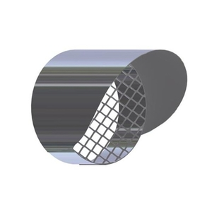 300x300 griglia aspirazione antintrusione con parapioggia per scarico fumi caldaia a condensazione diam 80 mm inox