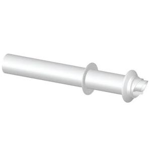300x300 terminale orizzontale coassiale universale o 60 slash 100 per aspirazione e scarico fumi caldaia a condensazione