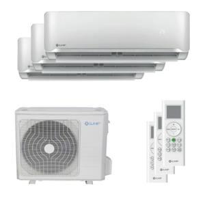 300x300 condizionatore clivet essential 2 trial split 9000 plus 9000 plus 12000 btu inverter a plus plus unita esterna 6500 watt ue