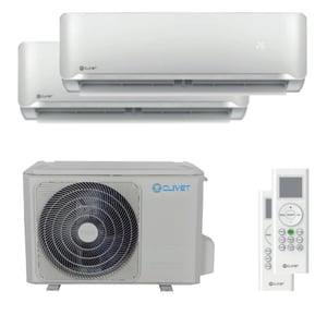 300x300 condizionatore clivet essential 2 dual split 9000 plus 12000 btu inverter a plus plus unita esterna 4 kw ue