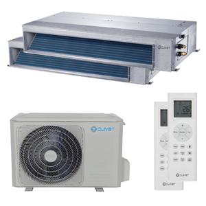 300x300 condizionatore clivet canalizzabile slim dual split 9000 plus 18000 btu inverter a plus plus unita esterna 5400 watt ue
