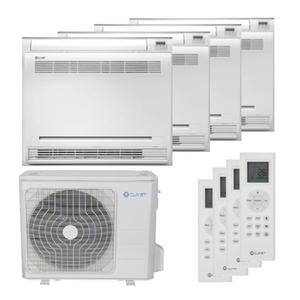300x300 condizionatore clivet console quadri split 9000 plus 9000 plus 9000 plus 9000 btu inverter a plus plus unita esterna 8200 watt ue