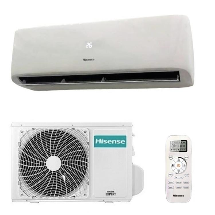 condizionatore hisense serie easy smart 12000 btu inverter a++ - gas r32 - con telecomando
