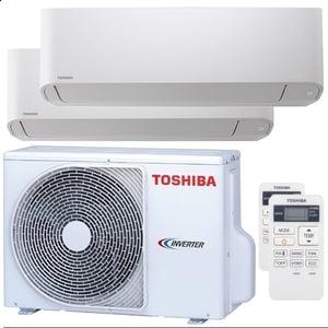 300x300 condizionatore toshiba seiya dual split 12000 plus 12000 btu inverter a plus plus unita esterna 5200 watt ue
