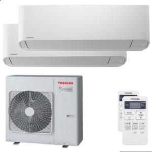300x300 condizionatore toshiba seiya dual split 16000 plus 16000 btu inverter a unita esterna 10 kw ue
