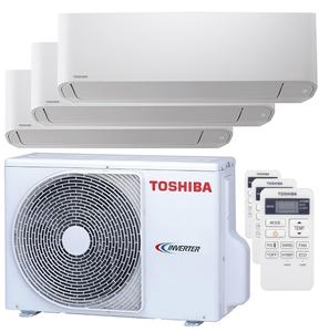 300x300 condizionatore toshiba seiya trial split 5000 plus 5000 plus 9000 btu inverter a unita esterna 5200 watt ue