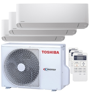 300x300 condizionatore toshiba seiya trial split 5000 plus 7000 plus 12000 btu inverter a plus unita esterna 5200 watt ue
