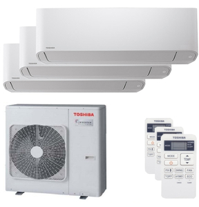 300x300 condizionatore toshiba seiya trial split 7000 plus 7000 plus 16000 btu inverter a plus unita esterna 7500 watt ue