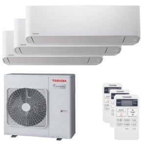 300x300 condizionatore toshiba seiya trial split 9000 plus 12000 plus 12000 btu inverter a plus unita esterna 7500 watt ue