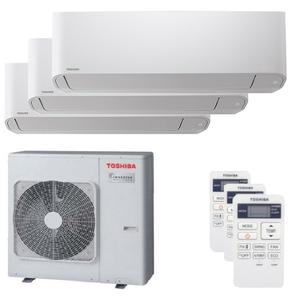 300x300 condizionatore toshiba seiya trial split 9000 plus 9000 plus 16000 btu inverter a plus unita esterna 7500 watt ue