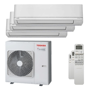 300x300 condizionatore toshiba shorai r32 trial split 9000 plus 12000 plus 12000 btu inverter a plus unita esterna 7500 watt ue