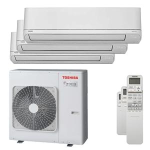 300x300 condizionatore toshiba shorai r32 trial split 9000 plus 9000 plus 12000 btu inverter a plus unita esterna 7500 watt ue
