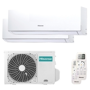300x300 condizionatore hisense new comfort dual split 7000 plus 9000 btu inverter a plus plus unita esterna 4200 watt ue