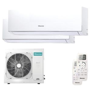 300x300 condizionatore hisense new comfort dual split 18000 plus 18000 btu inverter a plus plus unita esterna 8 kw ue