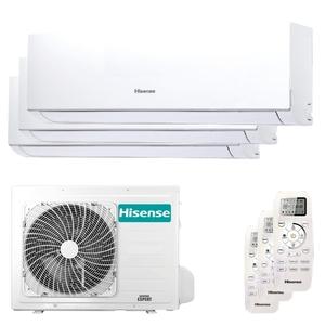 300x300 condizionatore hisense new comfort trial split 7000 plus 7000 plus 18000 btu inverter a plus plus unita esterna 6 kw ue
