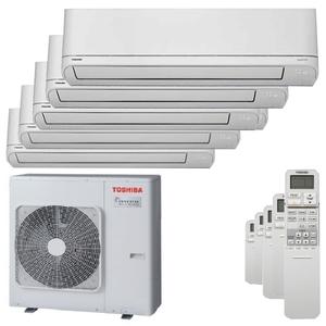 300x300 condizionatore toshiba shorai r32 penta split 7000 plus 7000 plus 9000 plus 9000 plus 12000 btu inverter a plus plus unita esterna 10 kw ue