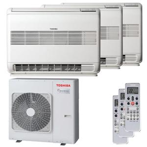 300x300 condizionatore toshiba console trial split 9000 plus 9000 plus 12000 btu inverter a plus plus unita esterna 5200 watt ue