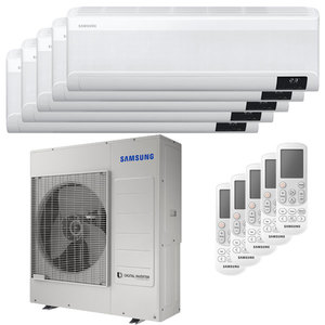 300x300 condizionatore samsung windfree elite penta split 7000 plus 7000 plus 7000 plus 7000 plus 7000 btu inverter a plus plus wifi unita esterna 10 kw ue