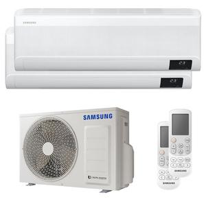 300x300 condizionatore samsung windfree elite dual split 7000 plus 7000 btu inverter a plus plus plus wifi unita esterna 4 kw ue