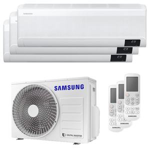 300x300 condizionatore samsung windfree elite trial split 7000 plus 7000 plus 12000 btu inverter a plus plus wifi unita esterna 5200 watt ue