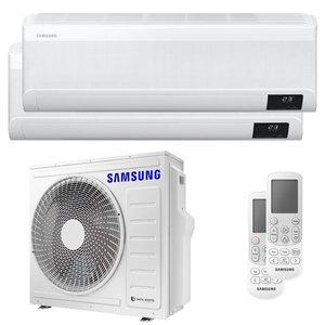 300x300 condizionatore samsung windfree avant dual split 12000 plus 18000 btu inverter a plus plus wifi unita esterna 6800 watt ue