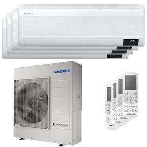 300x300 condizionatore samsung windfree avant quadri split 12000 plus 12000 plus 12000 plus 12000 btu inverter a plus plus wifi unita esterna 10 kw ue