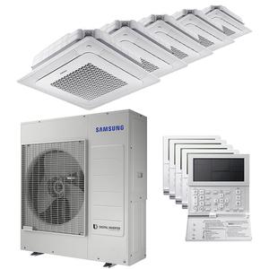 300x300 condizionatore samsung cassetta windfree 4 vie penta split 7000 plus 12000 plus 12000 plus 12000 plus 12000 btu inverter a plus plus unita esterna 10 kw ue