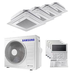 300x300 condizionatore samsung cassetta windfree 4 vie quadri split 7000 plus 7000 plus 7000 plus 9000 btu inverter a plus plus unita esterna 8 kw ue aj080txj4kg slash eu aj020tnndkg slash eu 4