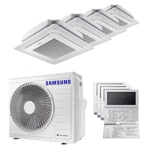 300x300 condizionatore samsung cassetta windfree 4 vie quadri split 9000 plus 9000 plus 9000 plus 9000 btu inverter a plus plus unita esterna 8 kw ue aj080txj4kg slash eu aj026tnndkg slash eu 4