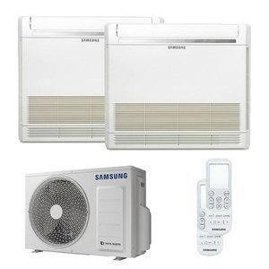 300x300 condizionatore samsung console dual split 12000 plus 12000 btu inverter a plus plus plus unita esterna 5 kw ue