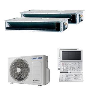 300x300 condizionatore samsung canalizzabile dual split 9000 plus 12000 btu inverter a plus plus plus unita esterna 5 kw ue aj050txj2kg slash eu aj026tnldeg slash eu 2 3f1087