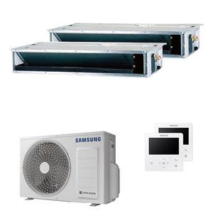 300x300 condizionatore samsung canalizzato dual split 9000 plus 9000 btu inverter a plus plus plus unita esterna 5 kw ue