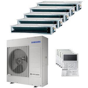 300x300 condizionatore samsung canalizzabile penta split 9000 plus 9000 plus 12000 plus 12000 plus 12000 btu inverter a plus plus unita esterna 10 kw ue